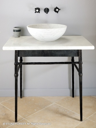 Another Stone Forest. I swear I do not work for them! I like the simplicity of this vanity but I would use a different sink.