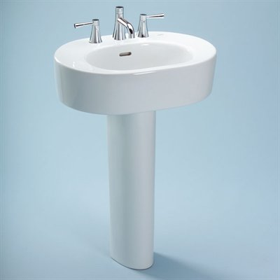A simple yet classic pedestal from Toto. Nexus