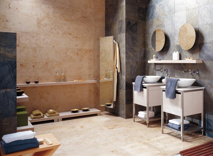 Porcelanosa tile on walls