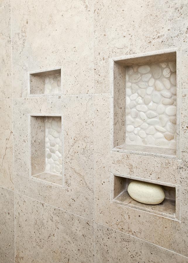 niches in shower