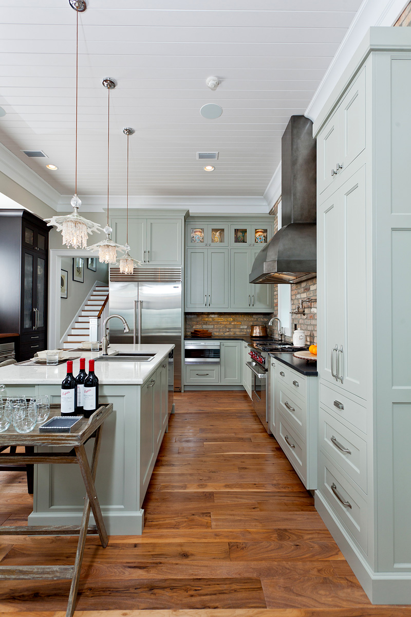 Coastal kitchen with a twist in detail interiors Www house kitchen design