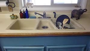 overmount three sink