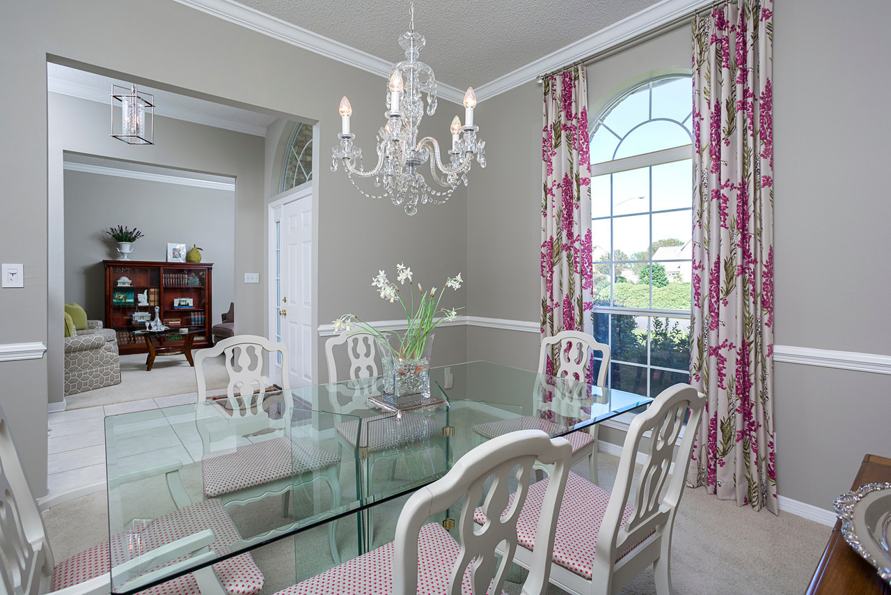Formal Living And Dining Room In Detail Interiors