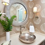 Guest bathroom remodel with neutral colors