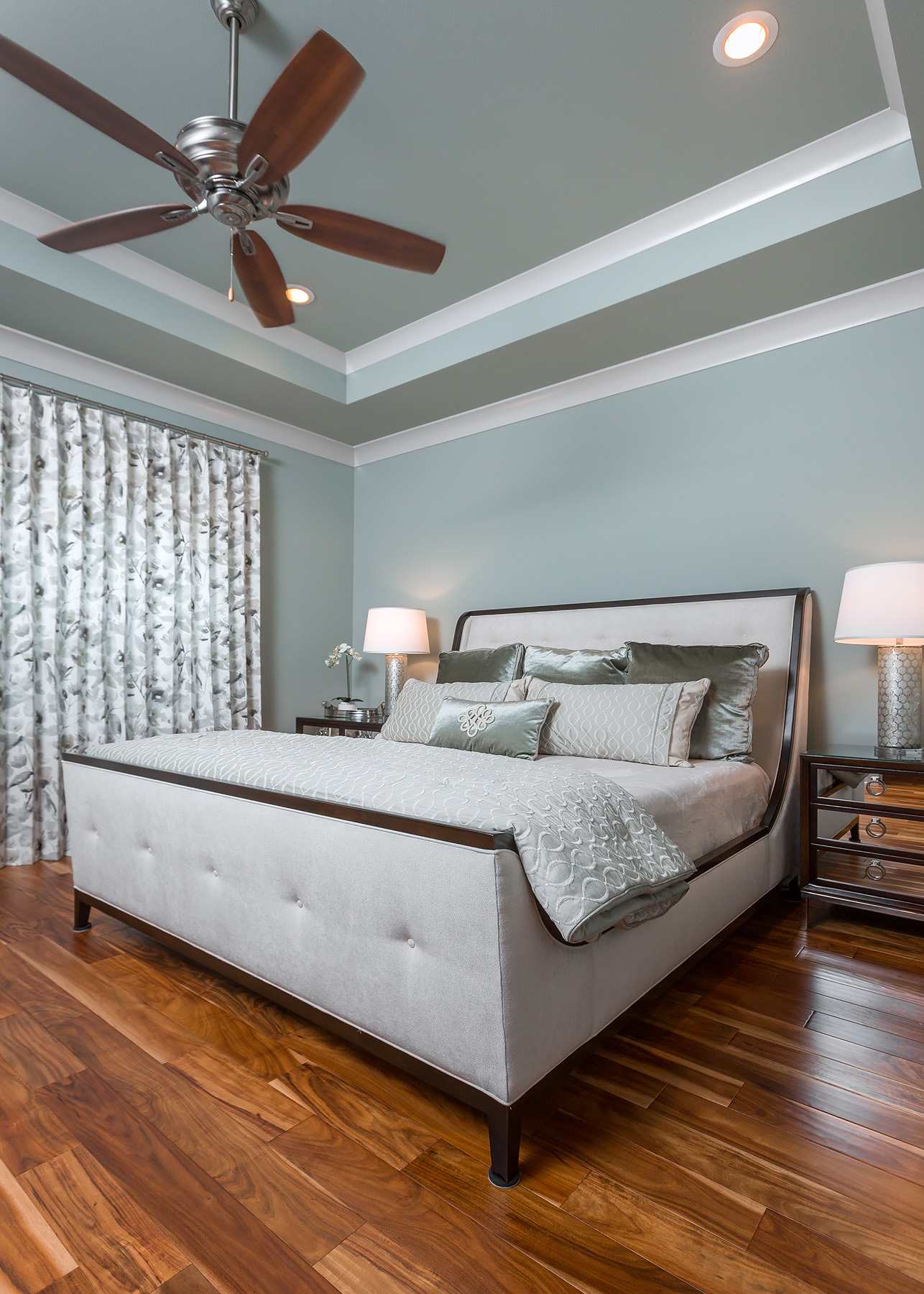 bedroom, traditional, newly constructed, traditional living, casual yet sophisticated, living space, custom home