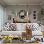 pendants in living room