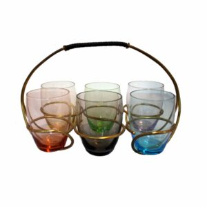 Nagel Mid-Century Bar Glasses