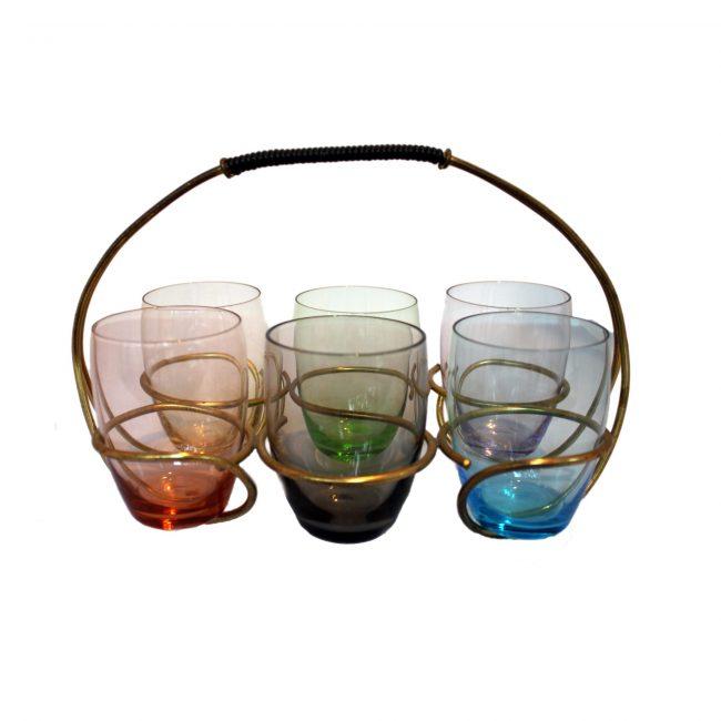 Nagel Mid-Century Bar Glasses