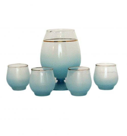 blendo pitcher set blue