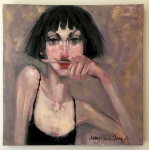 Artwork - Original 30 x 30 Painting on Canvas nancy rhodes harper