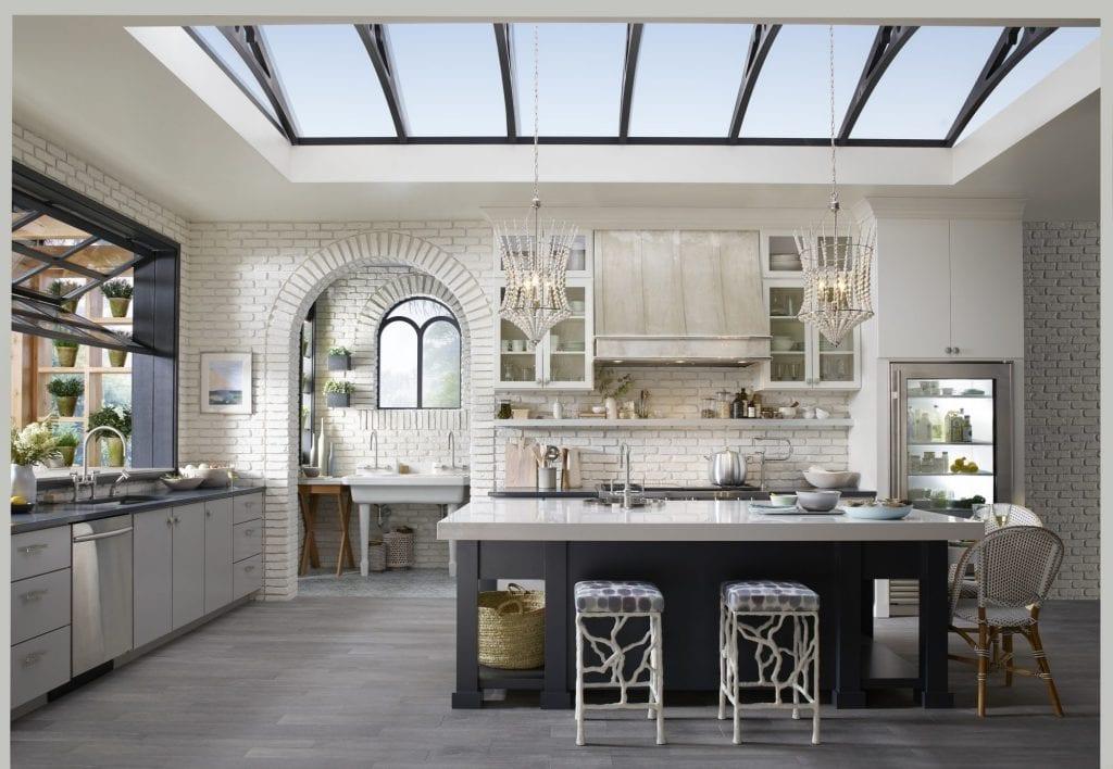 Healthy kitchen design In Detail Interiors green kitchen