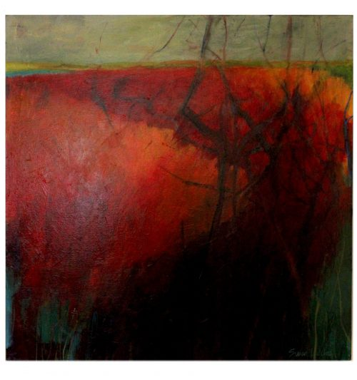 Artwork - 36 x 36 Painting on Canvas susan lucas