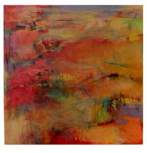 Artwork - Original 36 x 26 Painting on Canvas susan lucas
