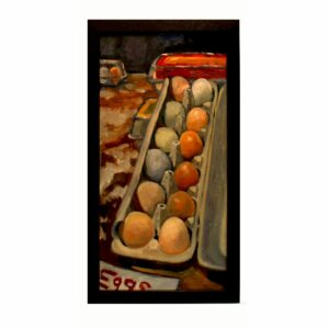 Artwork, original painting eggs