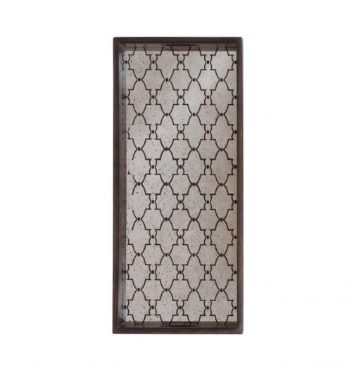 Tray - Bronze Gate Medium Aged Mirror notre monde