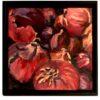 Artwork, Original Painting, folk art red onions