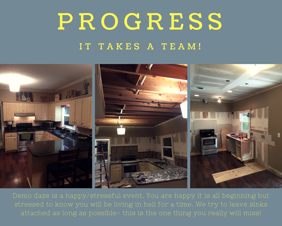 small kitchen progress