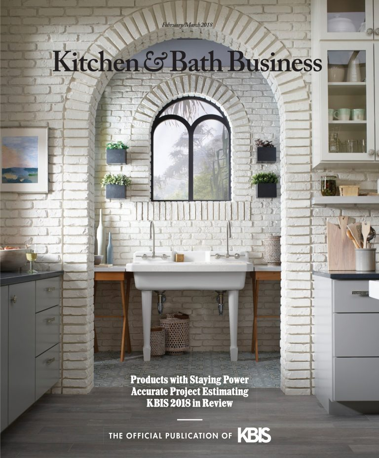 Kitchen & Bath Business February March Cheryl Clendednon