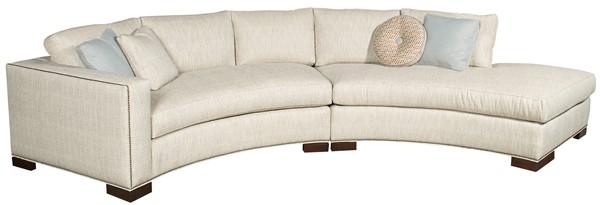 white round sofa