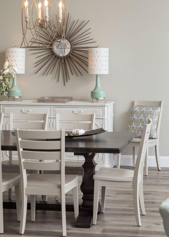 Coastal dining room design pensacola florida - neutral colors