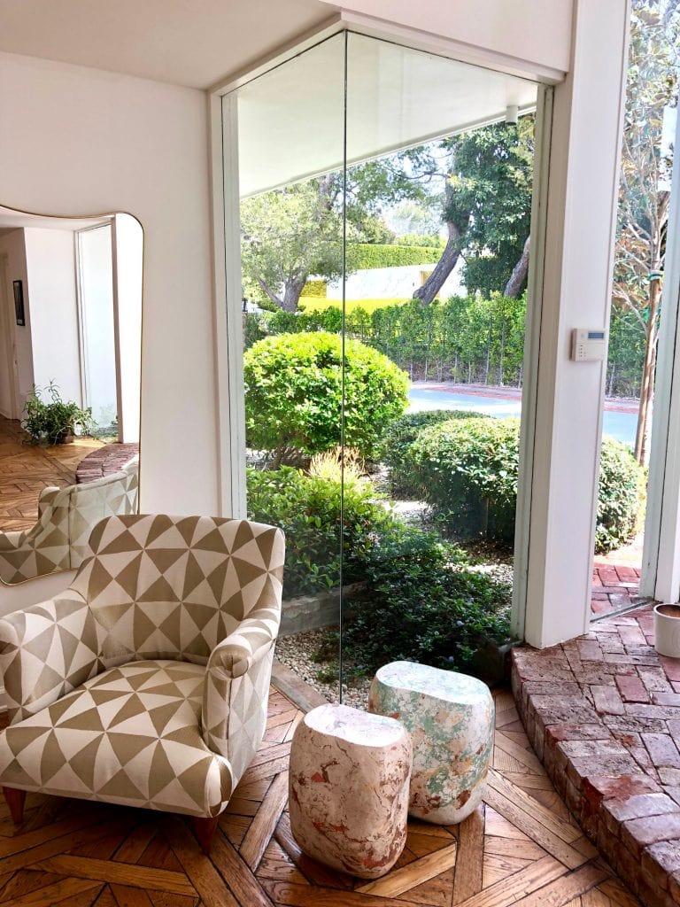 glass enclosed entrance casa perfect