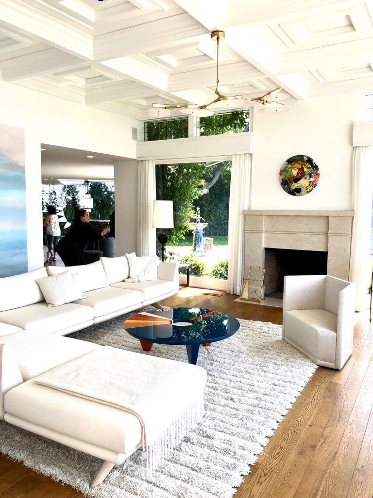 beautiful livving room at casa prefect