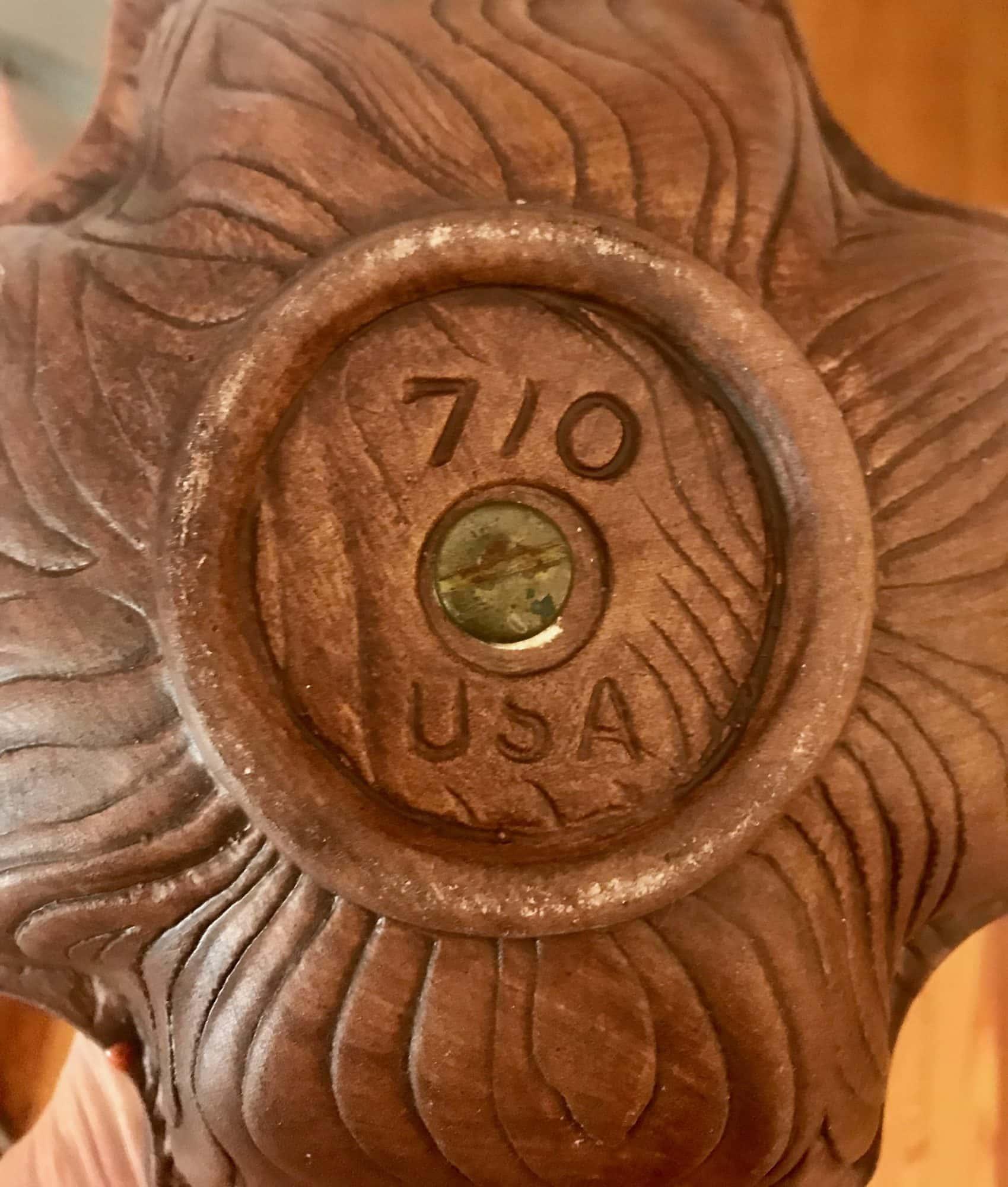 vintage california pottery sequoia ware