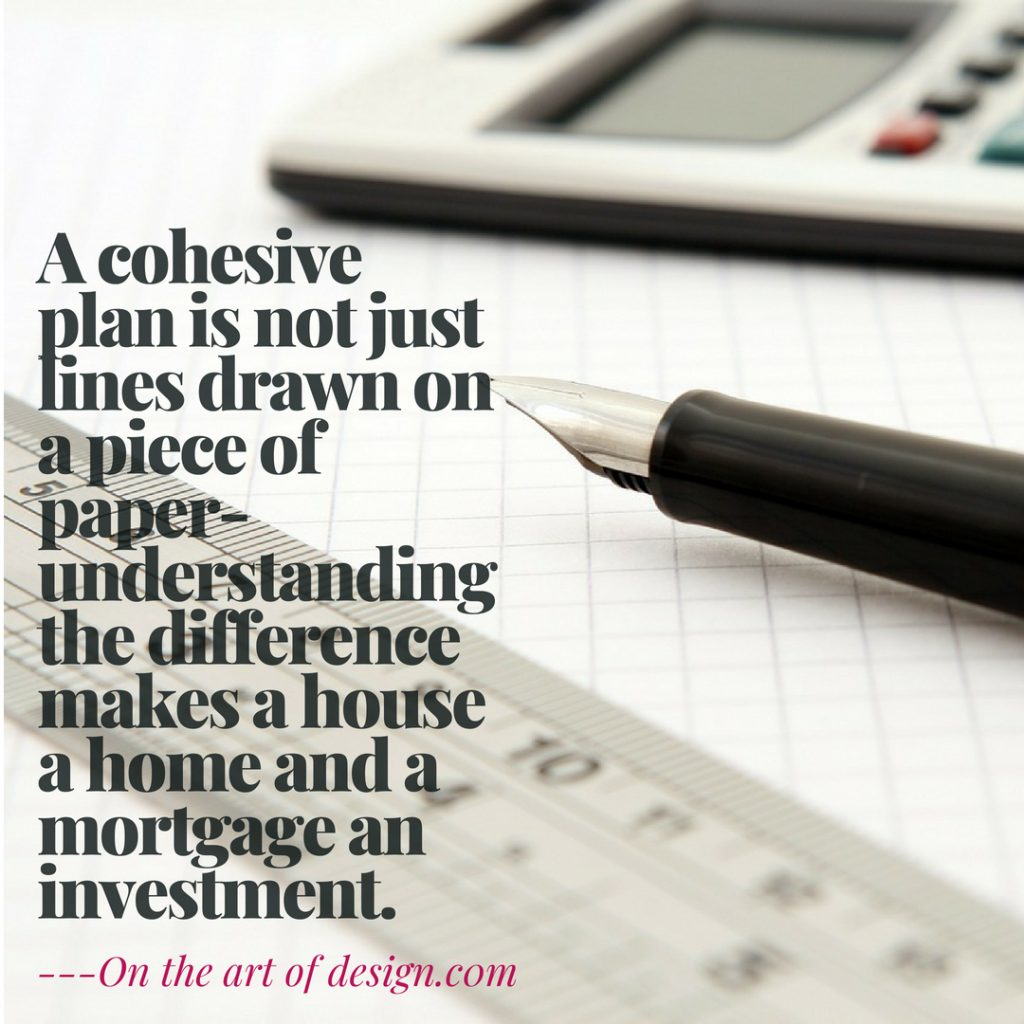 quote on architectural plans and why important
