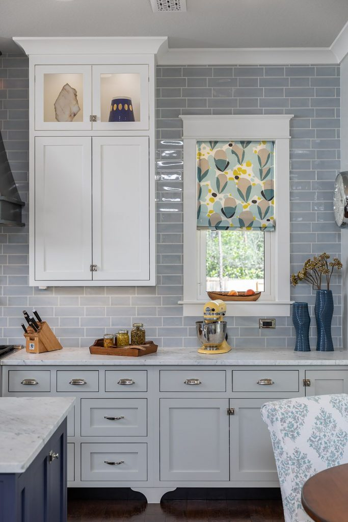 white farmhouse kitchen modern farmhouse classic kitchen in pensacola florida - white and blue