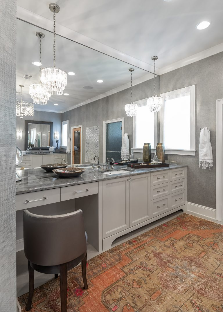 Grey Elegant Master Bathroom