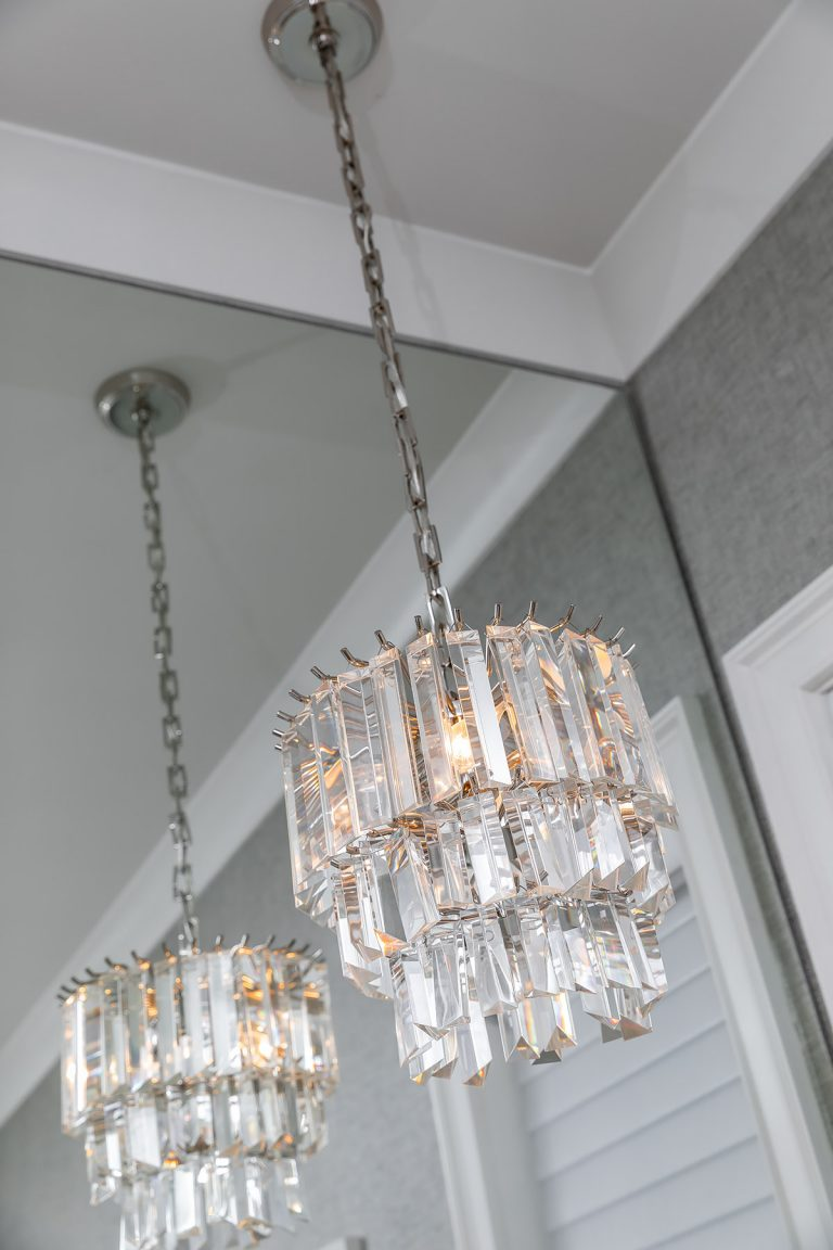 Chandelier for Master Bathroom
