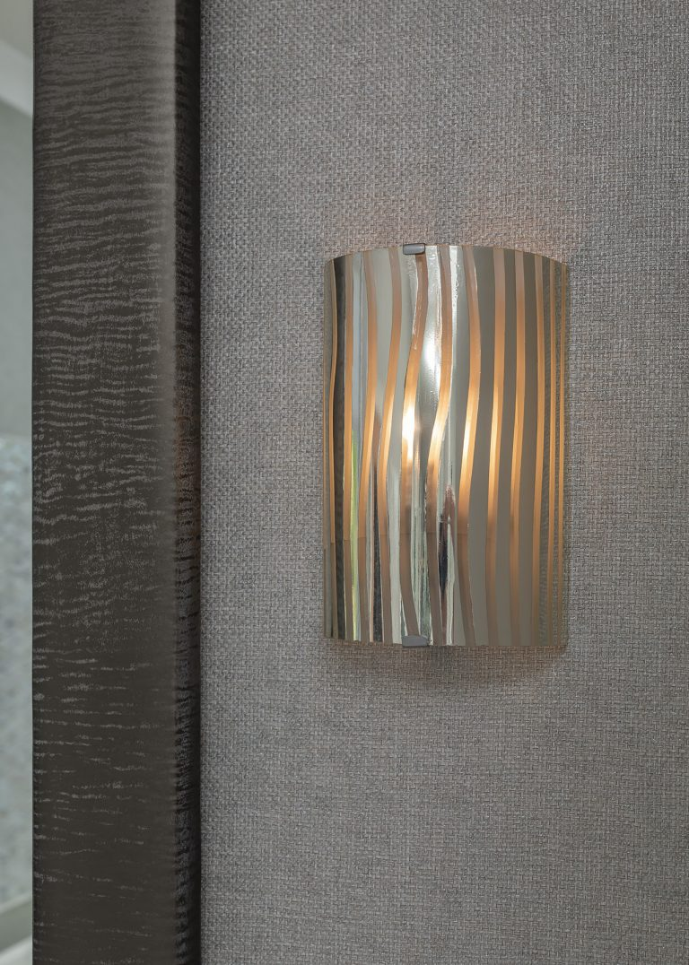 Wall sconce for bathroom lighting