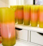Blendo pitcher & glasses