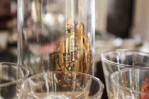 vintage Federal cocktail pitcher