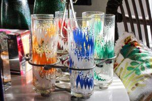 Set of Libbey atomic glasses