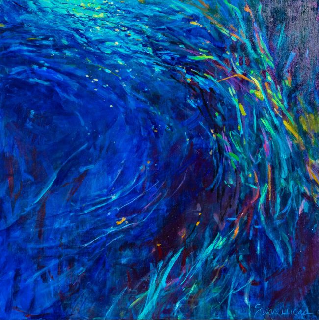 original artwork, Pensacola artist, Susan Lucas painting, painting on canvas
