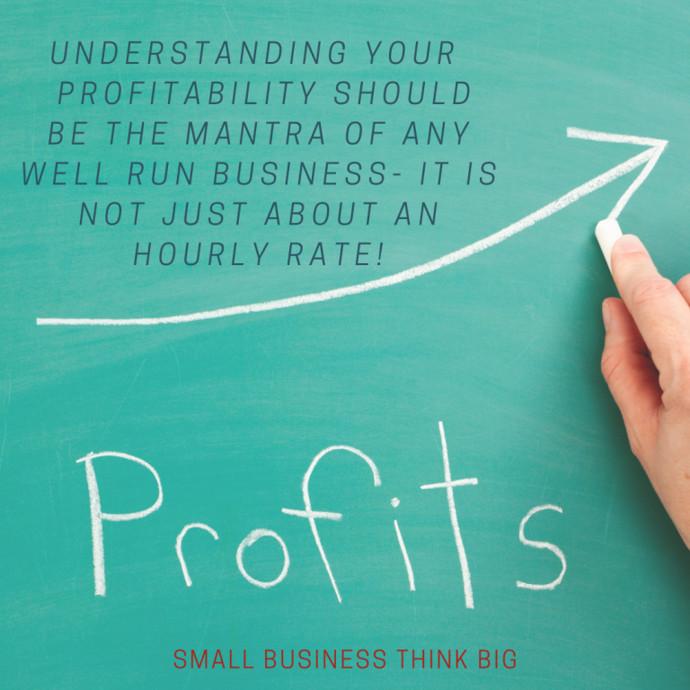 small business think big profits