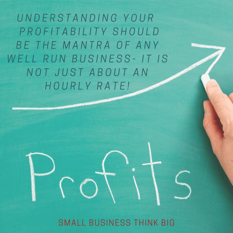 small business think big profits