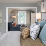 master bedroom suite with sitting room