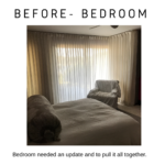 before and after mid century master bedroom remodel in detail interiors