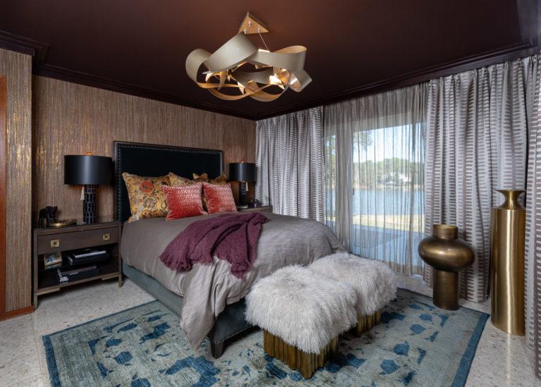 Moody Master Bathroom Suite, Pensacola, Florida, Dark Bedroom, Sexy Bedroom, Master Suite Ideas