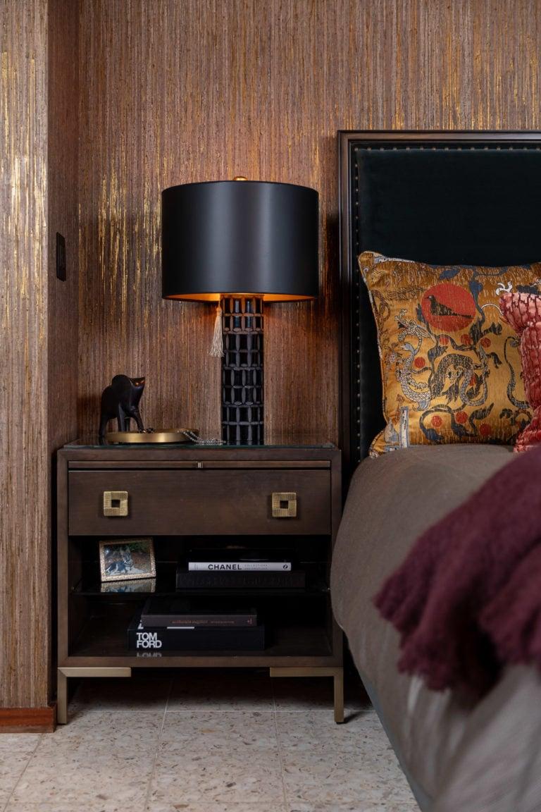 Master Bedroom Suite, Velvet Headboard, Velvet Pillow, Master Bedroom Ideas, Moody Bedroom, Sexy Bedroom