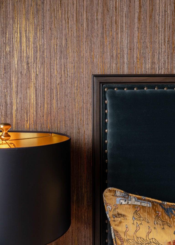 Master Bedroom Suite, Velvet Headboard, Black Lamp Shade, Master Bedroom Ideas, Moody Bedroom, Sexy Bedroom