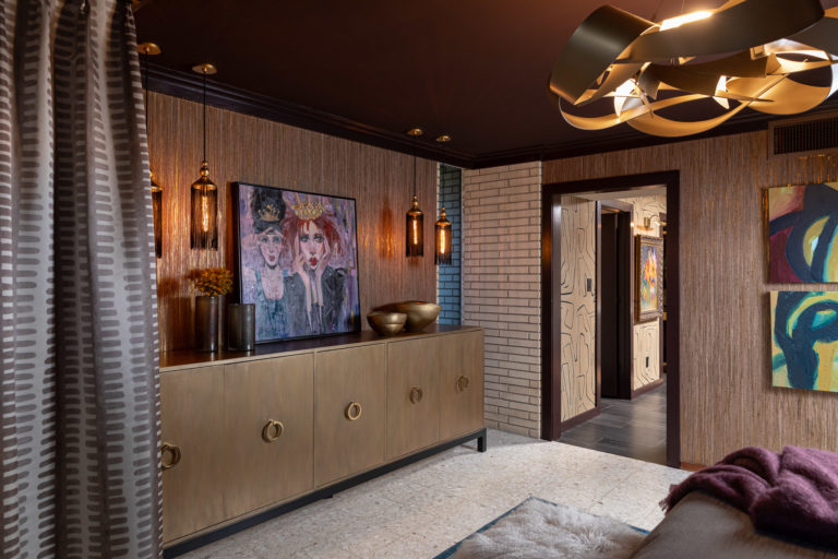 Master Bedroom Suite, Gold Console, Nancy Rhodes Harper Art, Master Bedroom Ideas, Moody Bedroom, Sexy Bedroom