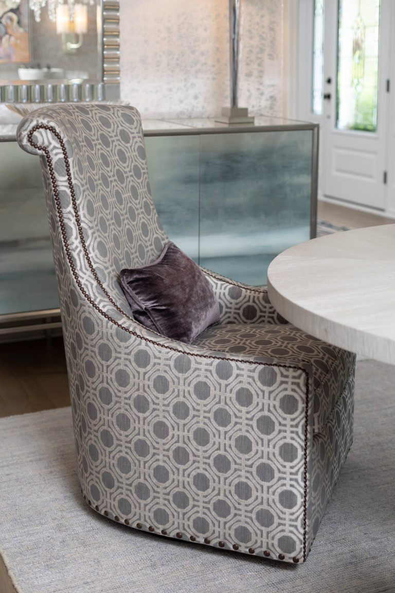 colonial dining room remodel, rodeo by benjamin moore, grey dining room, dining room ideas, new jersey home, grey accent chair, grey accent bench, original art,