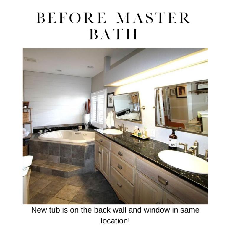 before master bathroom remodel on pensacola beach florida in detail interiors