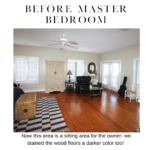 before master bedroom remodel on pensacola beach florida in detail interiors