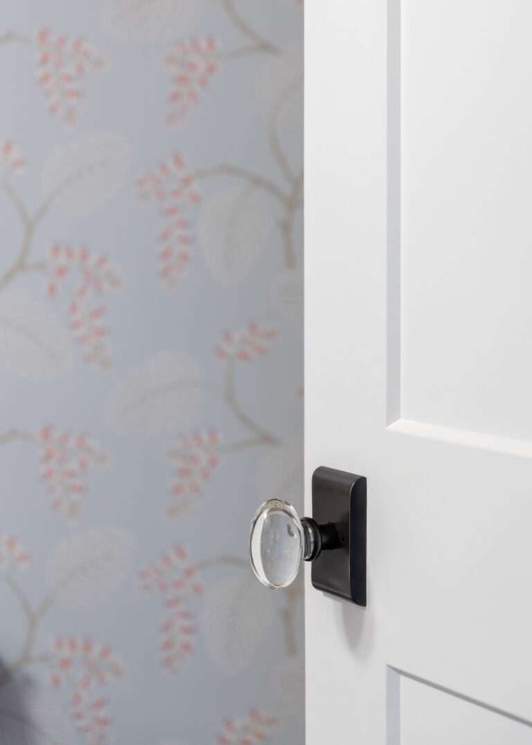 Crystal Knob Door Hardware with Oil Rubbed Bronze Finish